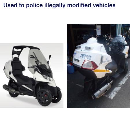 Singapore Police's Adoption